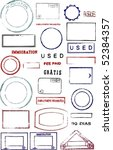 blank editable vector graphic...   Shutterstock .eps vector #52384357