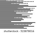 parallel straight lines... | Shutterstock . vector #523878016