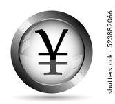 Yen Icon. Yen Website Button O...