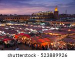 marrakech  morocco   apr 29 ... | Shutterstock . vector #523889926