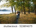 Loving Couple At The Lake  Lov...