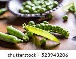 Peas. Green Peas.fresh Homemad...