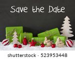 christmas decoration  cement ... | Shutterstock . vector #523953448