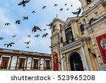 cathedral of san francisco in...   Shutterstock . vector #523965208