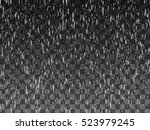 rain drops on the transparent... | Shutterstock .eps vector #523979245