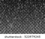 rain drops on the transparent... | Shutterstock .eps vector #523979245