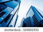 low angle view of skyscrapers... | Shutterstock . vector #524002552