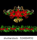 christmas elements for your... | Shutterstock .eps vector #524004952