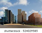 Amsterdam Business District...