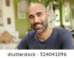 people and lifestyle concept.... | Shutterstock . vector #524041096