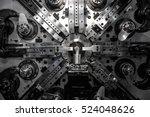 operator machining automotive... | Shutterstock . vector #524048626