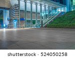town square at night in... | Shutterstock . vector #524050258