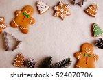 beautiful christmas background... | Shutterstock . vector #524070706
