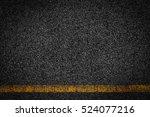 asphalt background texture with ... | Shutterstock . vector #524077216