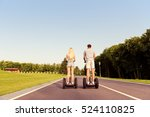 back view of man and woman... | Shutterstock . vector #524110825