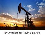 the oil pump  industrial... | Shutterstock . vector #524115796