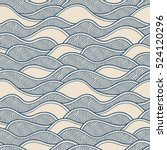 decorative seamless pattern.... | Shutterstock .eps vector #524120296