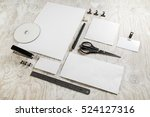Blank Stationery Set With Soft...