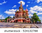 St. basil's cathedral in moscow ...