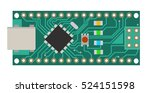 diy electronic mini board with... | Shutterstock .eps vector #524151598