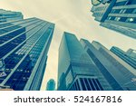 new york skyscrapers vew from... | Shutterstock . vector #524167816