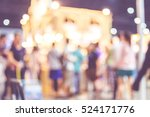 blurred background  crowd of... | Shutterstock . vector #524171776