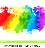 abstract painting background.... | Shutterstock .eps vector #524174812