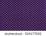 Close Up Of Purple Fabric And...