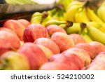 Apples And Bananas On Sale At...