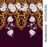 Pattern  Seamless  Floral...
