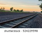 railroad tracks | Shutterstock . vector #524229598