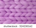 Knitted Pale Lilac Background 4