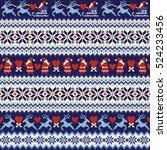 nordic pattern illustration | Shutterstock .eps vector #524233456