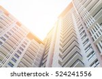 apartment building   vintage... | Shutterstock . vector #524241556
