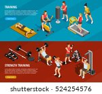 sports training horizontal... | Shutterstock .eps vector #524254576