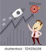 businessman manager marketing...   Shutterstock .eps vector #524256106