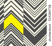 seamless zig zag pattern.... | Shutterstock .eps vector #524284738