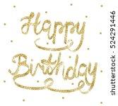 greeting card for birthday....   Shutterstock .eps vector #524291446