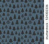 Abstract Christmas Trees...