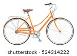 Stylish Womens Orange Bicycle...