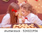 cute small boy wants to put to...   Shutterstock . vector #524321956