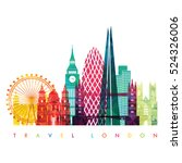 London Skyline. Vector...