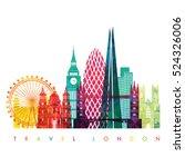 London Skyline. Vector...