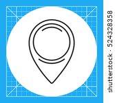 map pointer | Shutterstock .eps vector #524328358