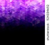 Purple Grid Mosaic Background ...