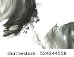 abstract ink background. marble ... | Shutterstock . vector #524344558