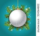 Decorative Christmas Backgroun...