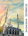 the omar al khatab   al farouk...   Shutterstock . vector #524386132