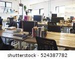 interior of modern design... | Shutterstock . vector #524387782