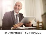 man being happy at work | Shutterstock . vector #524404222
